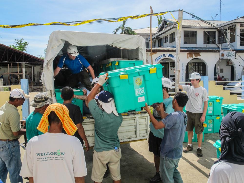 Ein gut funktionierendes Logistiksystem spielt in Krisenfällen eine zentrale Rolle. Private Unternehmen und humanitäre Organisationen sollen künftig enger zusammenarbeiten.
