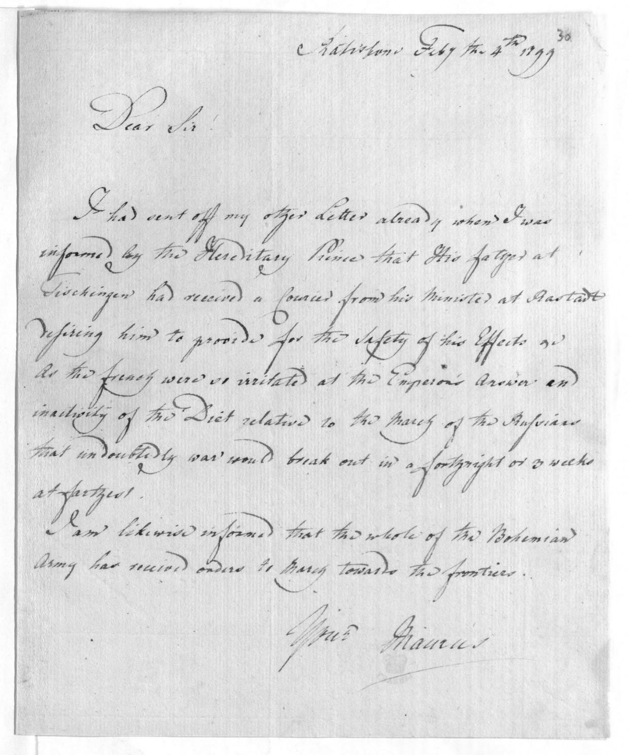 Briefe statt Pistole: die stärkste Waffe des britischen Diplomaten, Geheimagenten, Bibliothekars und Mönchs Maurus (Alexander) Horn zur Zeit der französischen Revolution.