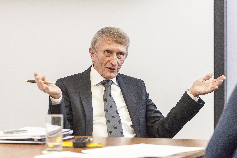 Hans Sünkel ist erfolgreicher Wissenschafter wie auch Kenner des Forschungs- und Hochschulsystems. Seit Ende 2015 ist er Aufsichtsrats-Chef des FWF.