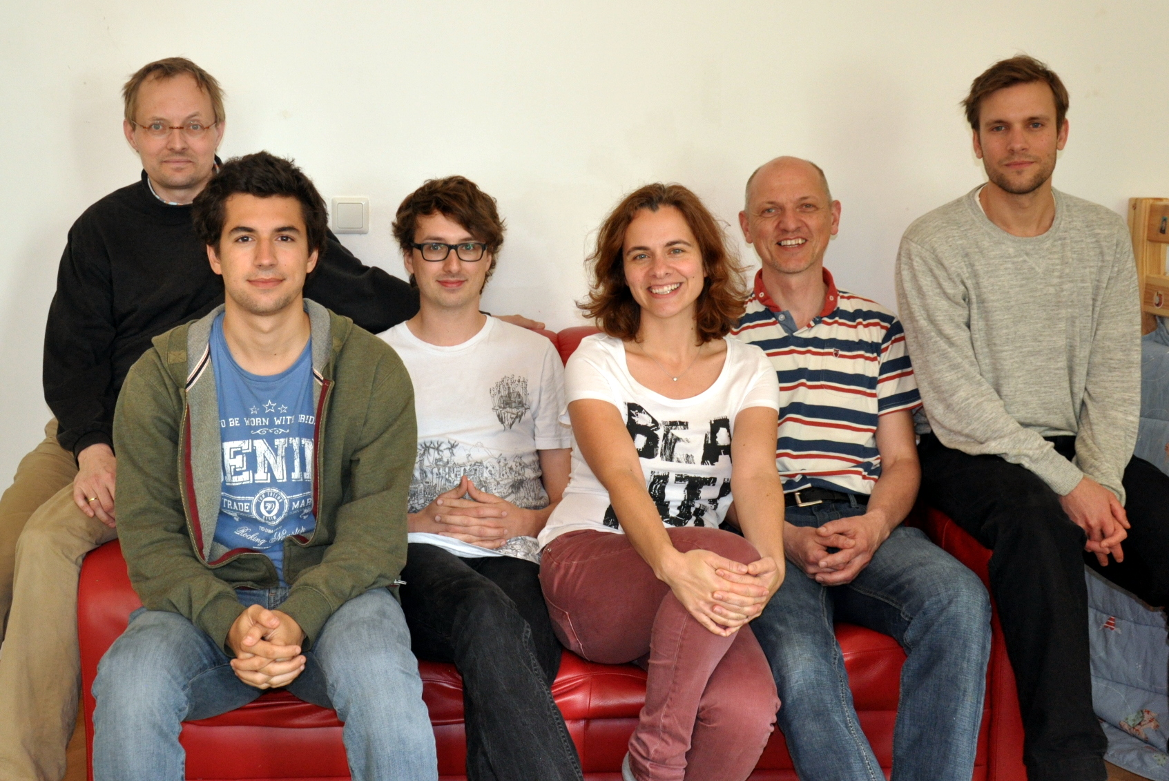The Crazy Robots' team at TU Vienna.
