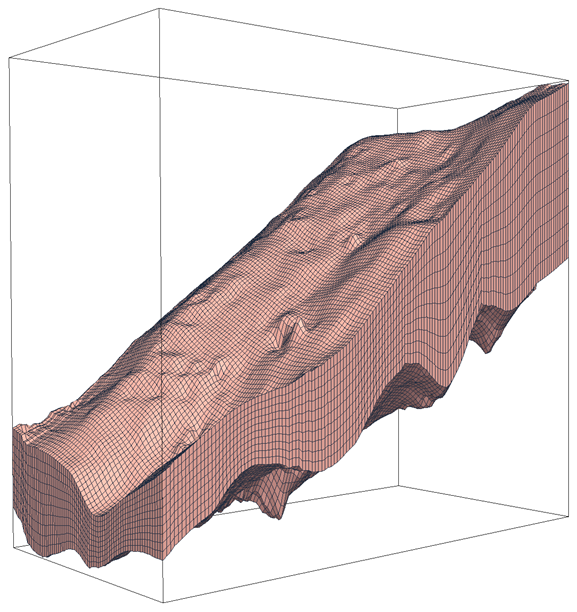 New numerical models enable the claculation of important physical factors relating to slope stability.