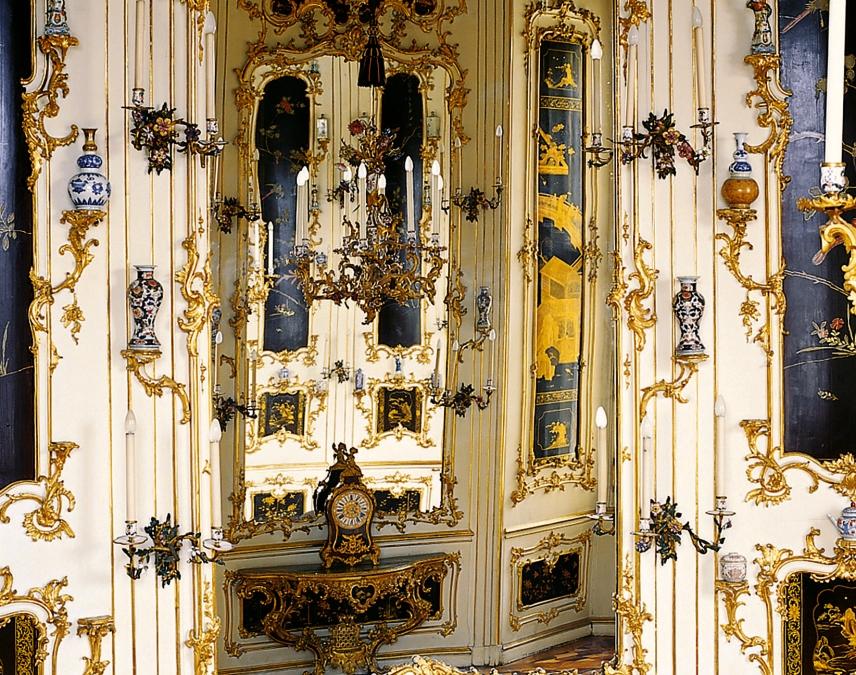 Kabinettstück – das Chinesische Rundkabinett (Ausschnitt) in Schloss Schönbrunn wurde mit Unterstützung des Wissenschaftsfonds FWF restauriert.