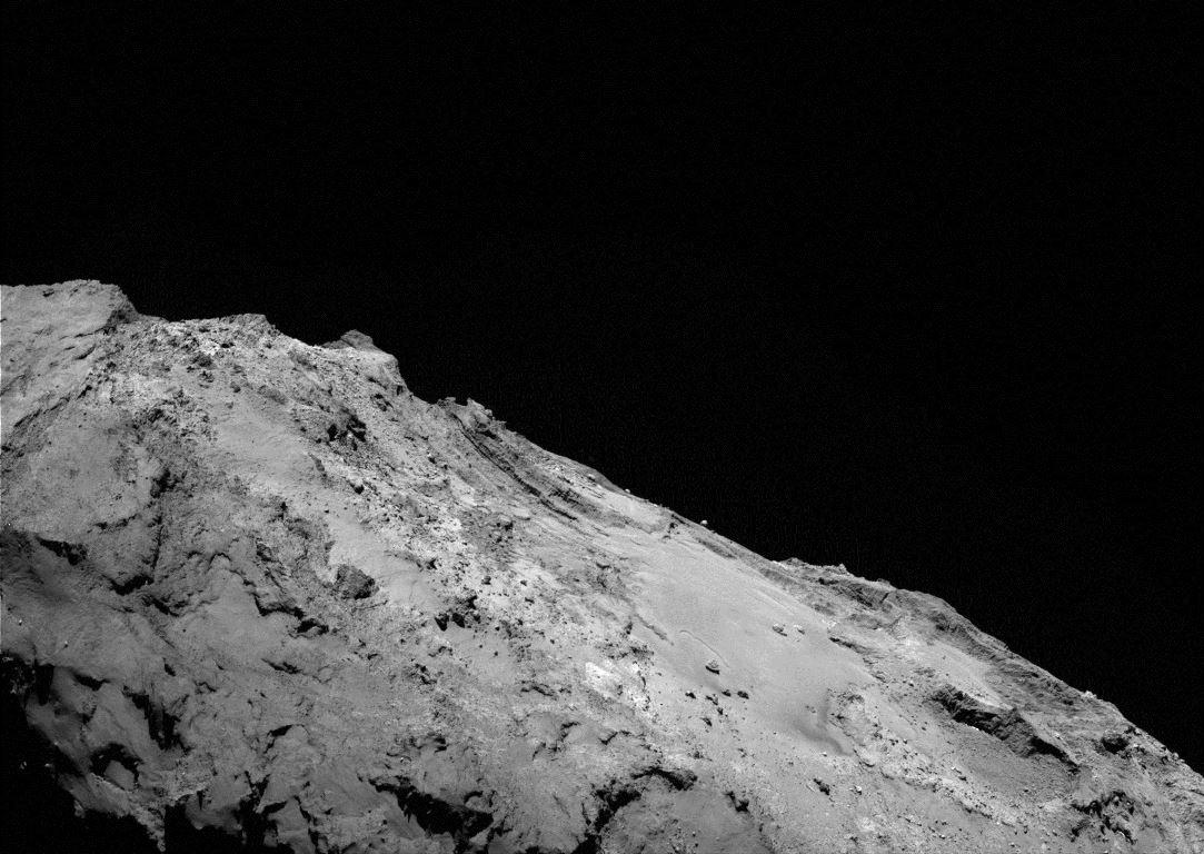 Eine Aufnahme des Kometen Tschuri vom 17. Jänner 2016. Seine Staubpartikel werden wertvolle Informationen über unser Sonnensystem liefern.
