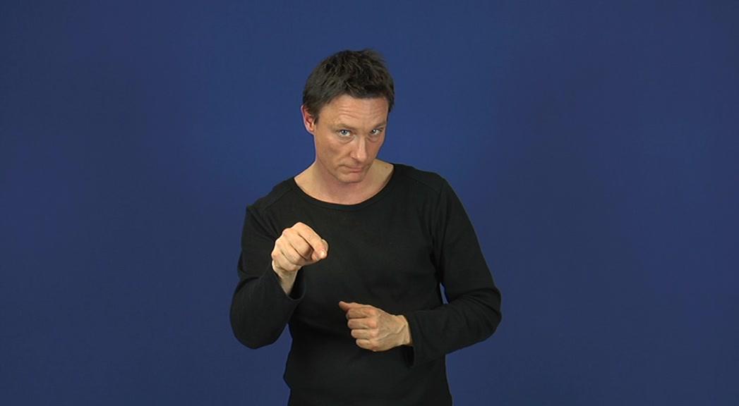 Nicht-manuelle Elemente wie Mimik oder Körperhaltung spielen eine zentrale Rolle in der Gebärdensprache.