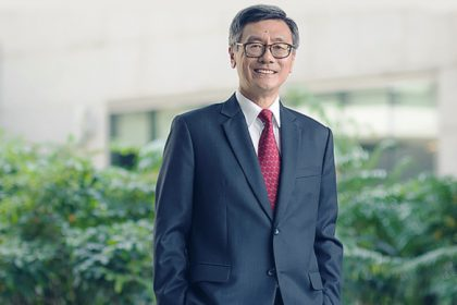 Porträt von Tan Eng Chye, Präsident der National University of Singapore.